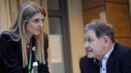 Schaffen sie die fünf Prozent? Spitzenkandidatin Barbara Meyer-Gluche und Fraktionsvorsitzender Hubert Ulrich