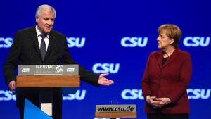 CSU streitet über Merkel-Einladung
