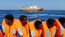 """Deutschland wird 50 Migranten der """"Aquarius"""" aufnehmen"""