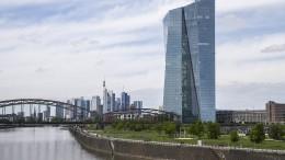 EZB erhöht Volumen auf 1,35 Billionen Euro