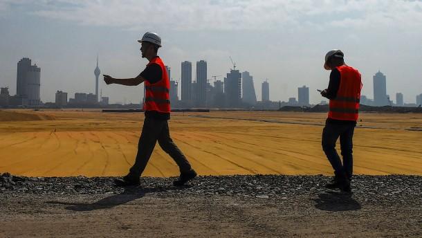 Wie Amerika Chinas Neue Seidenstraße kontern will