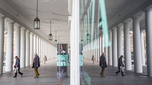 Vier positiv Getestete am Staatstheater Wiesbaden
