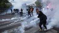 Viele Verletzte nach Protesten in Frankreich