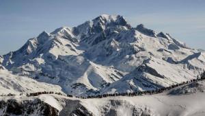 Auf den Mont Blanc nur noch mit Reservierung