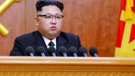 Kim Jong Un kurz vor Test von Interkontinentalrakete