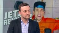 """CDU-Generalsekretär Paul Ziemieck spricht im WELT-Nachrichtenstudio über das Video des Youtubers """"Rezo""""."""
