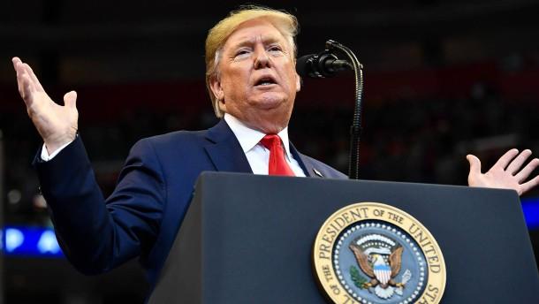 Rechtsausschuss beschließt beide Anklagepunkte gegen Trump