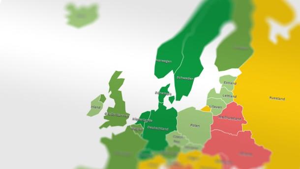 Moody's stuft sechs Euroländer herab