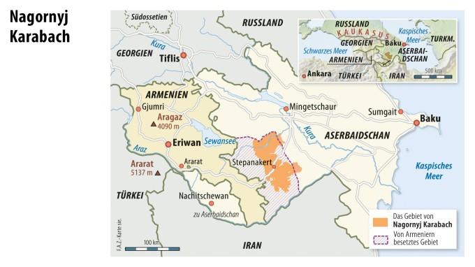 Eskalation Im Kaukasus Armenien Und Aserbaidschan Im Konflikt
