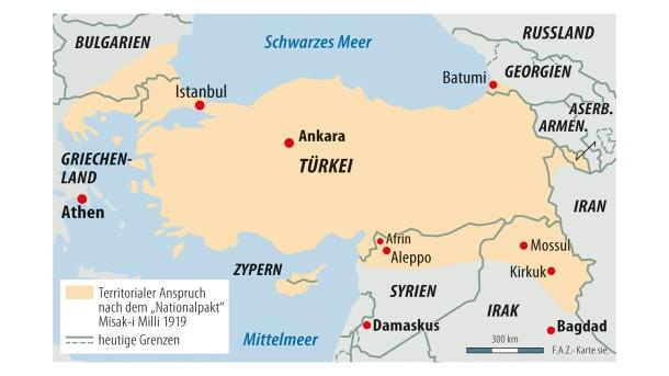Syrien Karte Aktuell 2018.Bilderstrecke Zu Prasident Erdogan Entfernt Sich Weiter Vom