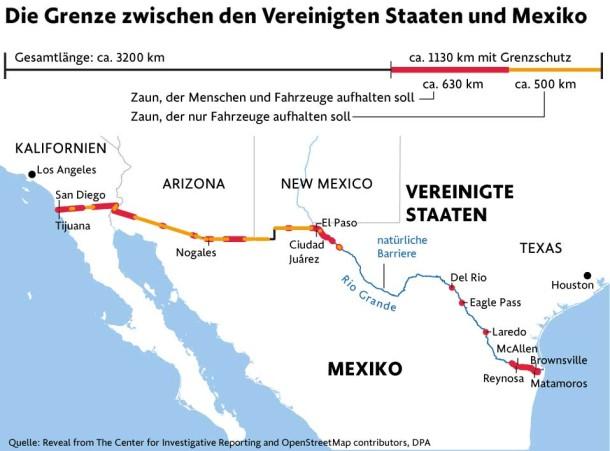 Mexiko Staaten Karte.Bilderstrecke Zu Amerika Schickt Migranten Zuruck Uber