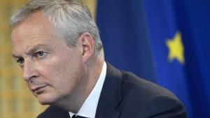 Frankreich fordert von Deutschland mehr Investitionen