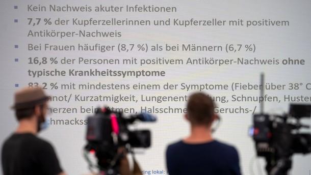 Deutlich mehr Infektionen in Kupferzell als bekannt