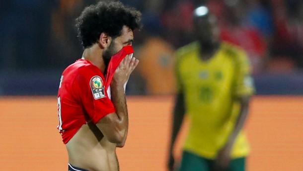 Salah und Ägypten ausgeschieden