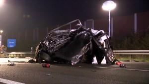 Schwere Zusammenstöße auf der A4 und einer Landstraße