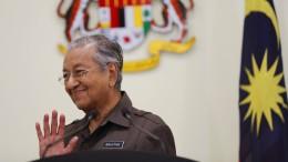 Malaysias Ministerpräsident reicht Rücktritt ein