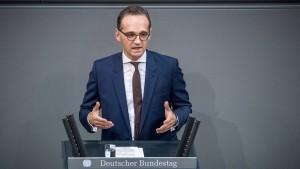 Maas: Ausschreitungen in Chemnitz schaden dem Ansehen Deutschlands