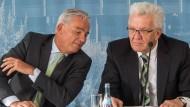 Das baden-württembergische Duo aus Thomas Strobl und Winfried Kretschmann könnte bei möglichen Koalitionsverhandlungen eine wichtige Rolle übernehmen.
