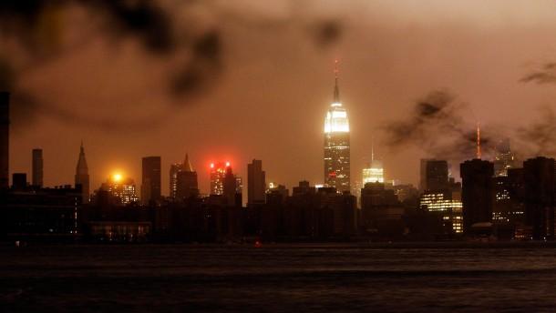 Sandy im Kerzenlicht
