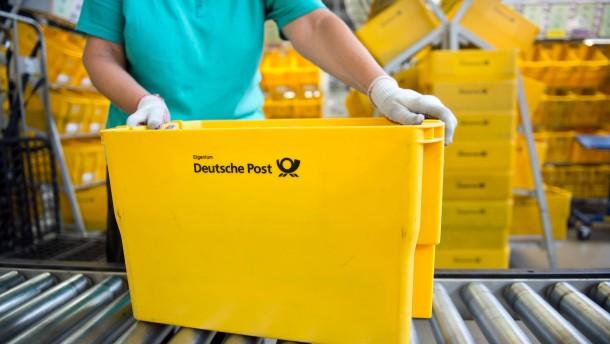 Deutsche Post kauft Aktien für eine Milliarde