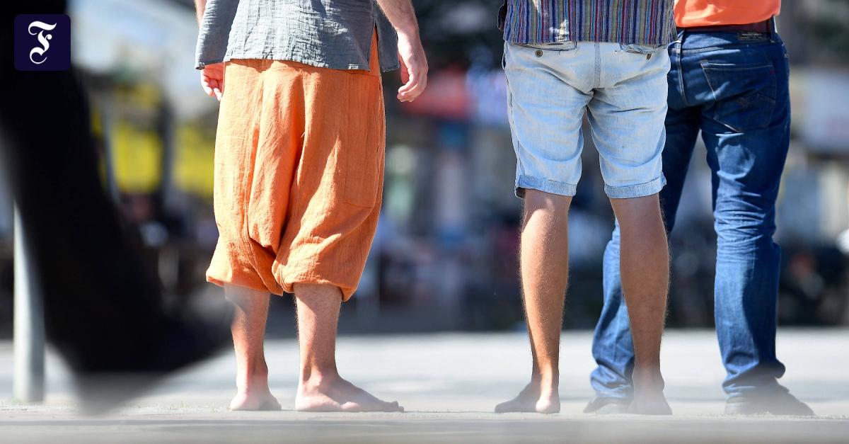 Männer in Röcken: Beinfreiheit für alle!