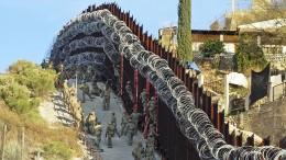 Wo die Grenzmauer Realität ist