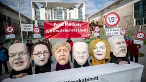 Erste Sitzung des Klima-Kabinetts