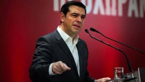 """Tsipras warnt Schäuble vor """"Spiel mit dem Feuer"""""""