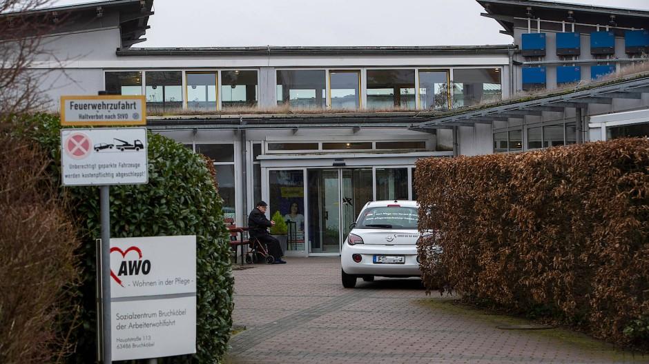 Im Fokus von Ermittlungen: das Sozialzentrum der Awo in Bruchköbel