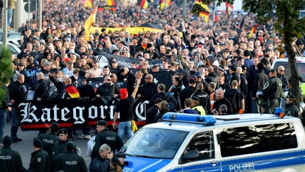 Hannover will keine Hooligan-Demonstration wie in Köln