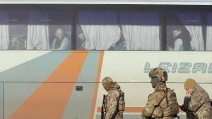 Kiew und prorussische Separatisten tauschen Gefangene aus
