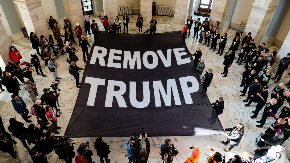 Protest gegen Trump in Washington