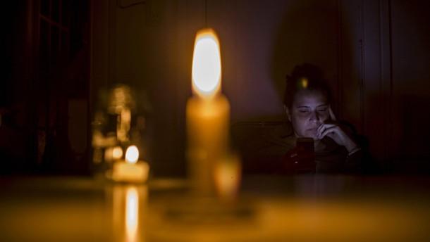Stromversorgung  in Südamerika allmählich wieder normal