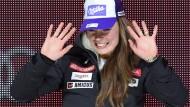Bei der Ski-WM 2015 in Vail gewann Tina Maze gleich drei Medaillen