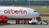 Air Berlin will sich von 1000 Mitarbeitern trennen