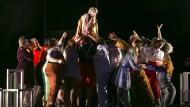 """Das Staatstheater Mainz feiert: Steigende Besucher- und Abonnentenzahlen versprechen eine gute Saison für 2018/19. Hier: Die Oper """"Antikrist""""."""