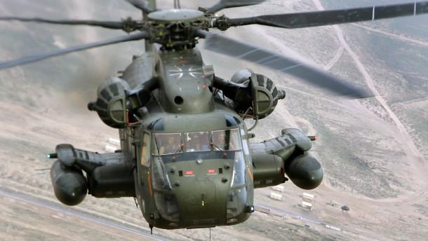 Mann bei Unfall mit Bundeswehr-Hubschrauber getötet