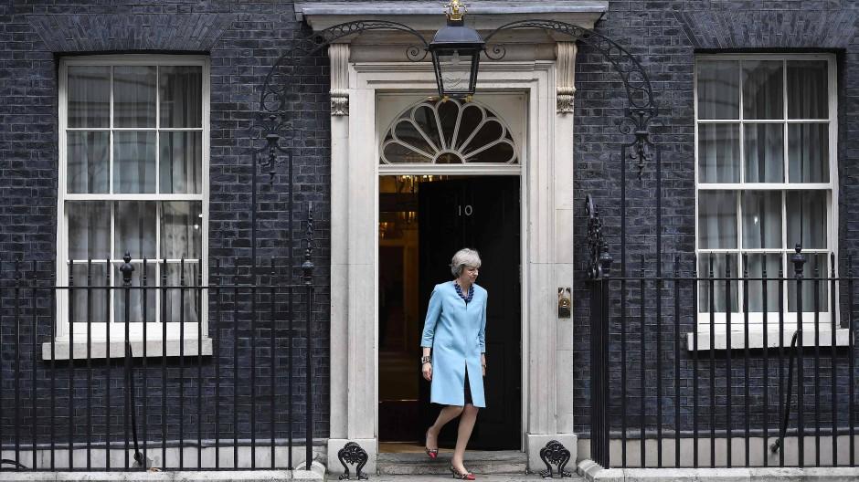 In Bratislava nicht dabei, trotzdem in einer Hauptrolle: die britische Premierministerin, Theresa May