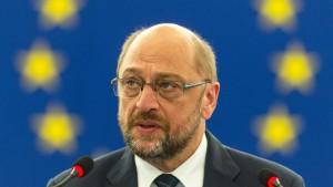 Atempause für Schulz
