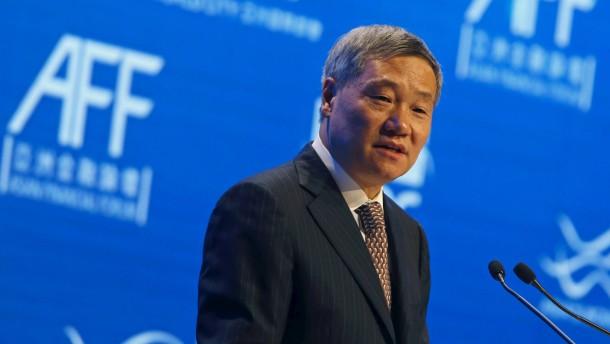 China entlässt obersten Börsenaufseher