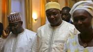 Präsident Jammeh kündigt Rücktritt an