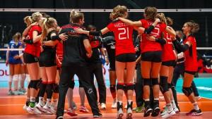 Volleyballerinnen gewinnen viertes EM-Spiel