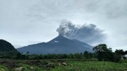 Vulkandrama in Guatemala
