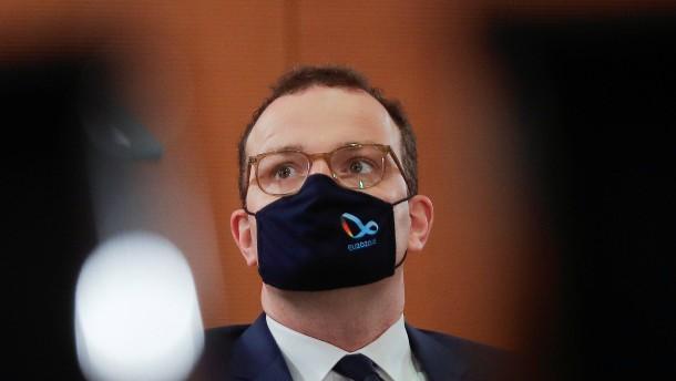 Gesundheitsminister Jens Spahn positiv auf Coronavirus getestet