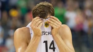Für Deutschland ist es aus und vorbei
