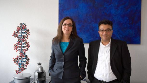 Sylvia Wojczewski - Die geschäftsführende Gesellschafterin der Biotech-Unternehmen Biospring und Adiutide spricht in Frankfurt mit Thorsten Winter über ihre Arbeit.