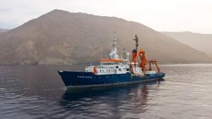 """United4Rescue"" kauft Forschungsschiff ""Poseidon"""