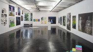 Eine Doppelausstellung der Malerei: Hier stellen Künstlerinnen in der Schulsstraße aus