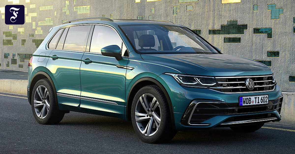 VW Tiguan: Frisch auf Felge Frankfurt