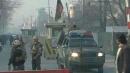 Anschlag auf Geheimdienst in Kabul